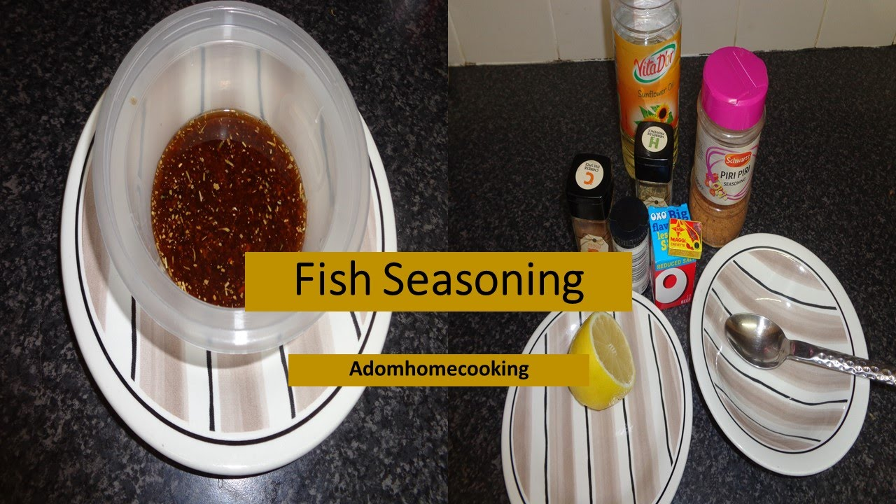 How to quick fish seasoning ahc combination of spices for How to season fish