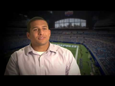 Donald Brown Discusses Reaching the NFL