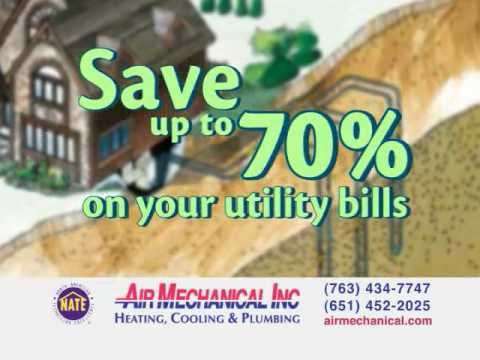 Save Money with Geothermal Heat Pumps from Air Mechanical