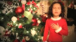 """All I Want For Christmas is You - 7 yr old Rhema Marvanne..Truly Amazing - plz """"Share"""""""