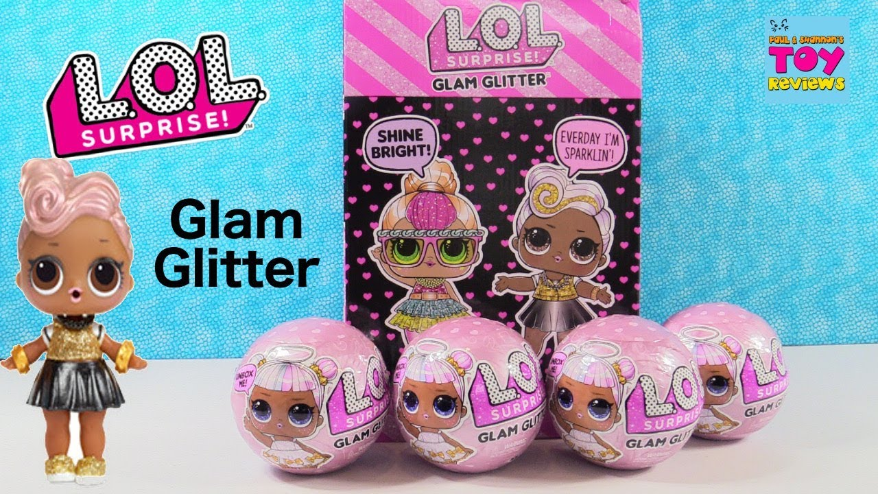 Glam Glitter Lol Surprise Doll Opening Series 2 Toy Review