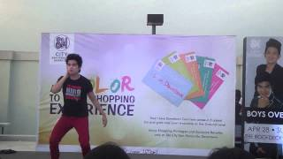 Hiro Mallari @ SM City San Fernando Downtown :) April 28,2013