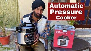 automatic electric pressure cooker geek robocook