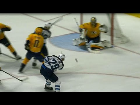 Gotta See It: Laine dangles and dekes, finishes off with an 'elite snipe' past Rinne