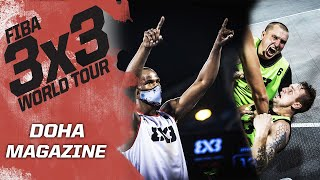 Epic Dunk Contest & Memorable Game-Winner | Magazine | FIBA 3x3 World Tour - Doha Masters 2020