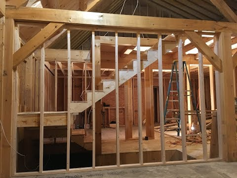 Framing Construction Stairs
