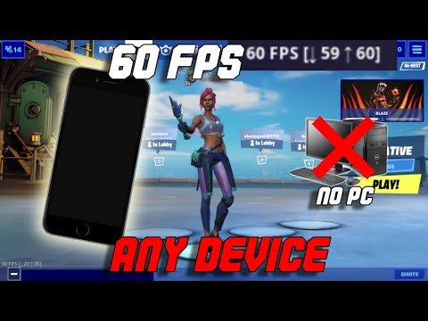 *NEW* How To Get 60 FPS In Fortnite Mobile Season 3 Chapter 2 (WORKS 100%)