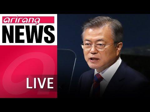 [LIVE/NEWS] In UN speech, Pres. Moon urges official end to Korean War - 2018.09.27