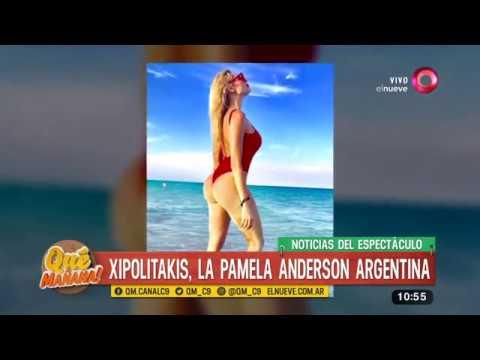 Xipolitakis, la Pamela Anderson argentina