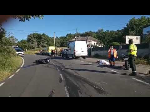Accidente mortal en Vilar de Barrio