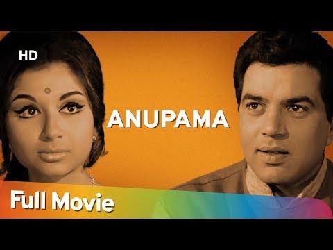 Anupama {HD} Dharmendra |  Sharmila Tagore | Shashikala | 60's Superhit Movie
