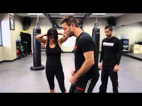 Hair Grab w/ Impending Strike - Krav Maga Technique - AJ Draven Self Defense KMW - Ep. 31