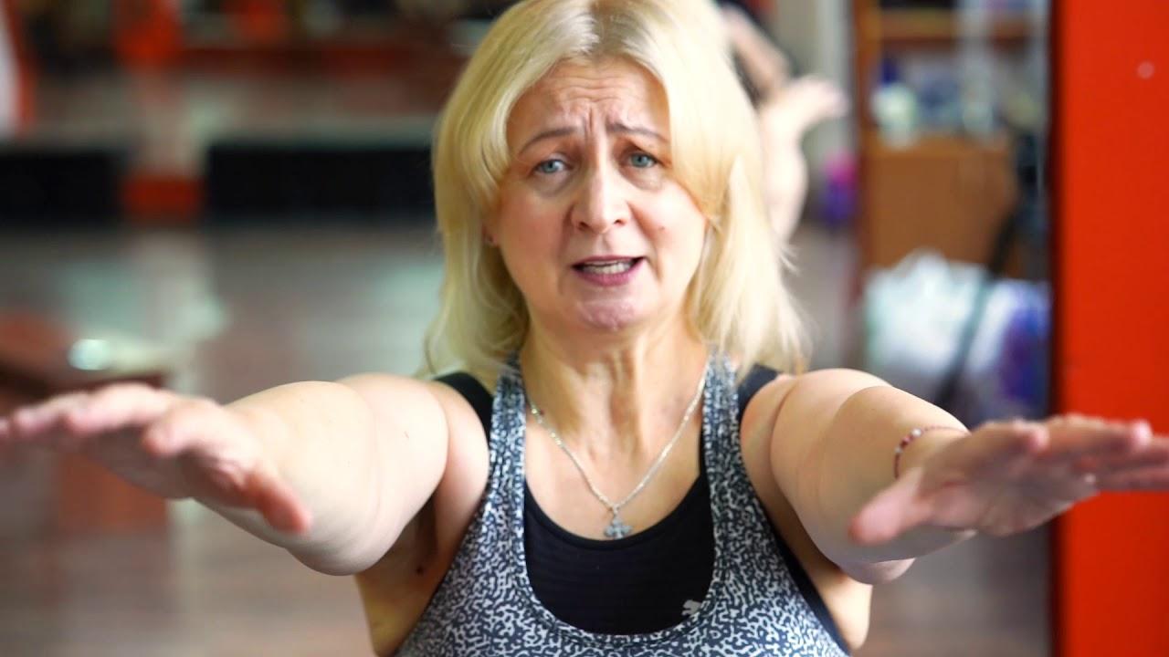 """Благотворительный фонд """"Содействие"""". ЛФК для женщин после рака груди возраст 60+"""