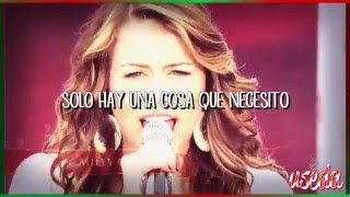 Download ALL I WANT FOR CHRISTMAS IS YOU - Miley Cyrus - ESPAÑOL MP3 song and Music Video