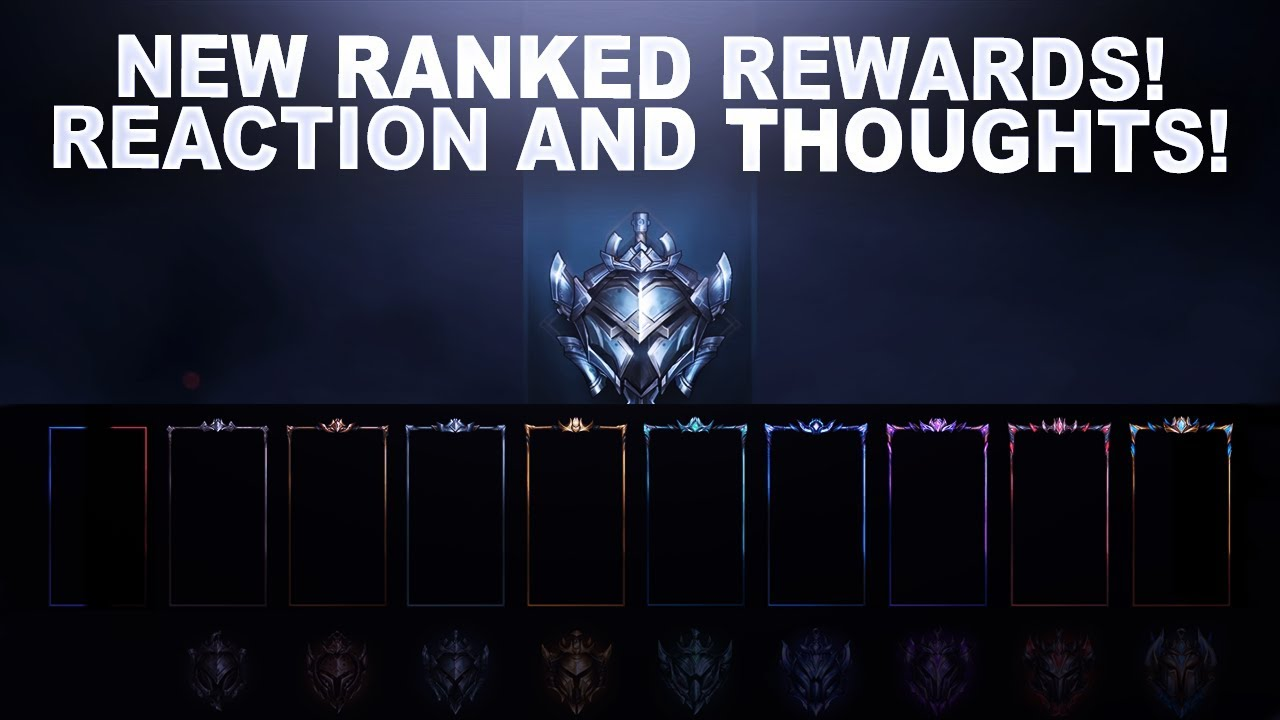 NEW RANKED REWARDS FOR SEASON 9! REACTION AND THOUGHTS | League of Legends