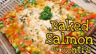 How to Cook Baked Salmon ala Conti's