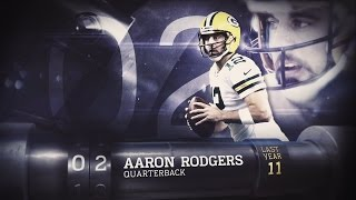 #2 Aaron Rodgers (QB, Packers) | Top 100 Players of 2015