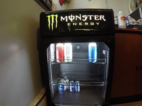 Monster energy fridge delivery!!