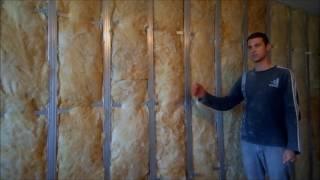 видео Утепление стен угловой квартиры в панельном доме изнутри