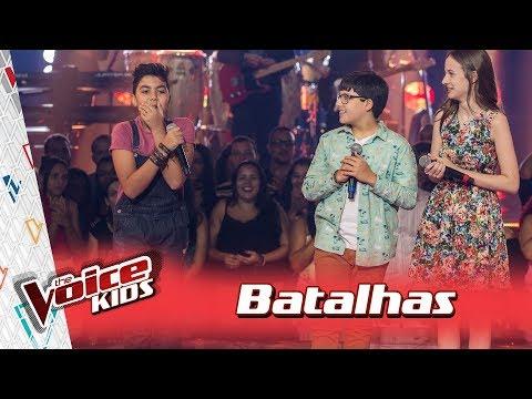 Daniel, Matheus e Valentina cantam 'Marvin Gaye' nas Batalhas – TVK Brasil | 3ª T