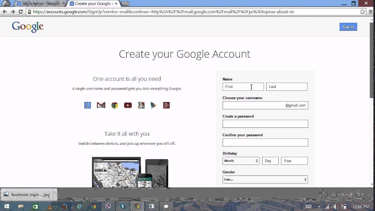 Gmail Login - Gmail.com Sign In / Gmail Login Email