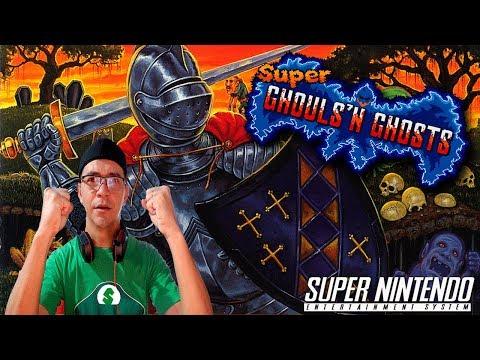 Super Ghouls N' Ghosts jogando no PROFISSIONAL  até zerar ?
