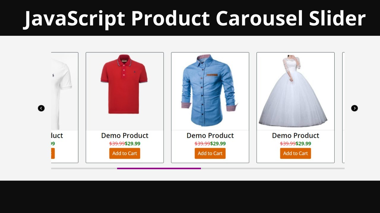 How To Build A Product Carousel Slider With Javascript