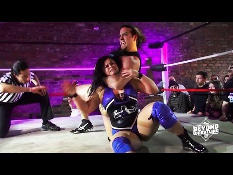 [Free Match] Jordynne Grace & Chris Dickinson vs. AΣΣ | Beyond Wrestling (Intergender Mixed Tag)