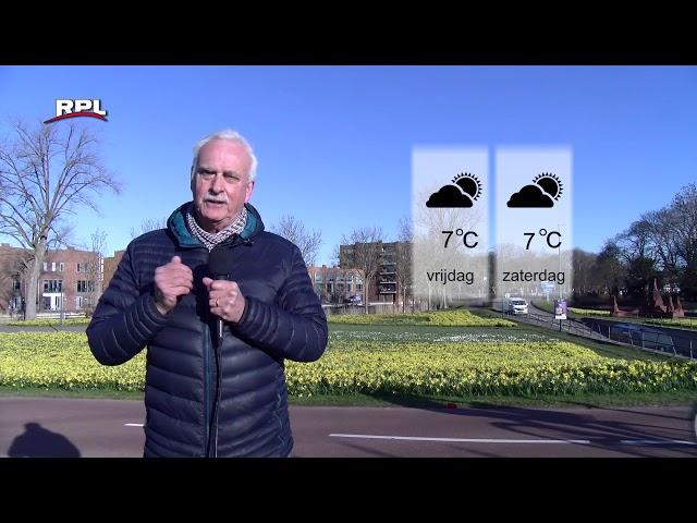 Weekend Weerbericht weer 9 voor Woerden e.o. met Mees Weststrate