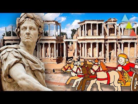Restos romanos españoles TAN BUENOS como el Coliseo