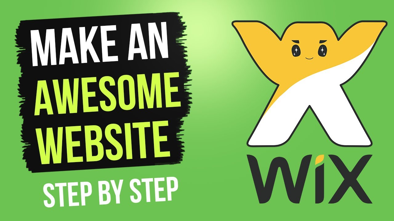 Create an Awesome Website with Wix - Step by Step - 2018