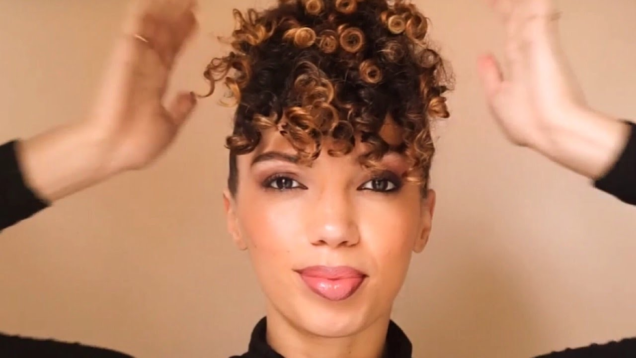 5 Hairstyles: PINEAPPLE UPDO : HOW TO VIDEO ( 3 WAYS )