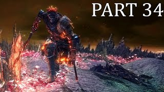 DARK SOULS 3 ENDING - Soul of Cinder Livestream Gameplay (PC) Co-op Playthrough - Part 34