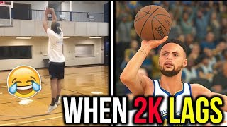 When 2k Lags IN REAL LIFE Funny Vine Compilation 2017