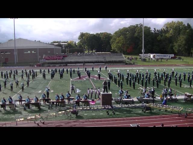 2014 Petoskey Marching Band Alma Competition 2014-10-04