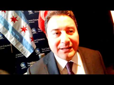 Capitol Intelligence interviews Deputy Prime Minister Ali Babacan in Chicago.