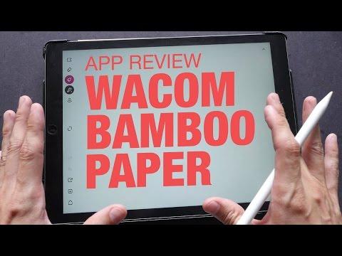 wacom-bamboo-paper-app-review-&-walkthrough