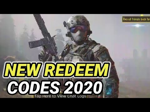 Call Of Duty Mobile New Redeem Codes October 2020 I New ...