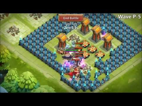 Castle Clash 10/10 Skill VLAD 8/8 Wargod And Inscribed To 100 HBM P 3 Heros
