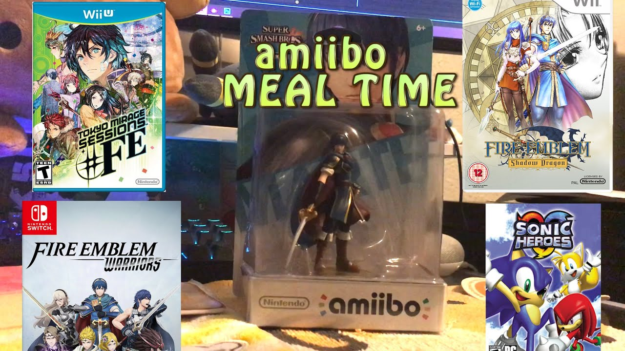 BYLETH amiibo Meal time