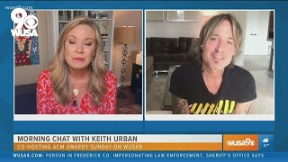 Morning chat with Keith Urban