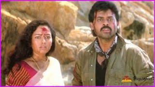 Devi Putrudu Movie Climax Scene   Venkatesh   Soundarya   Anjala Zaveri