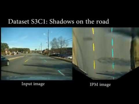 A Particle Filter-based Lane Marker Tracking Approach using
