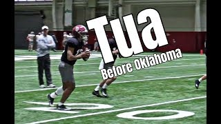 Watch Tua Tagovailoa throw after ankle surgery