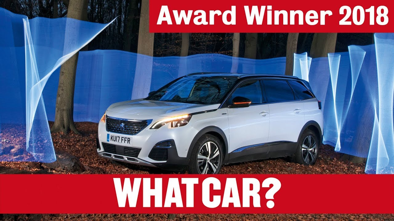 Peugeot 5008: why it's our 2018 Large SUV of the Year   What Car? - Dauer: 110 Sekunden