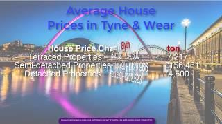 Tyne & Wear Average House Prices January 2019