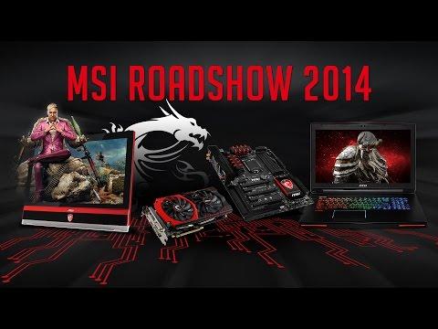 předVánoční MSI Gaming Roadshow 2014 - Zlín, Ostrava, Hradec Králové [Oficiální reportáž]
