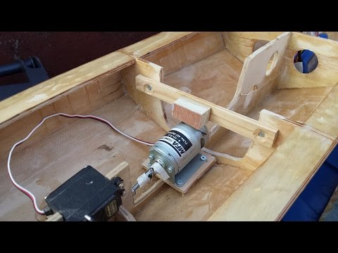 RC Boat - Homemade - Part 10 - Hardware Assembly