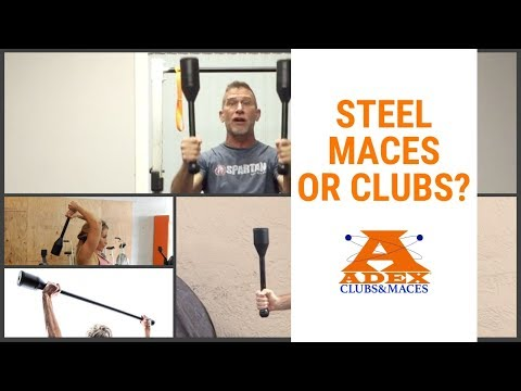 Steel Maces or Clubs (Which Is Right For You?)