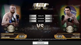 Conor McGregor vs Jose Aldo (Champion Edition) EA SPORTS UFC MOBILE